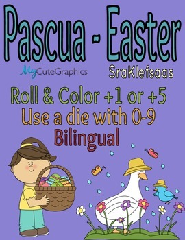Pascua Tira y Colorea - Easter Roll & Color