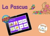 Pascua (vocabulario). Boom Cards. Distance Learning