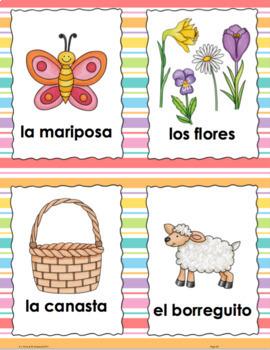 Easter Pascuas Beginning Spanish Unit