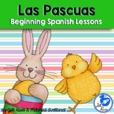Easter Pascuas Beginning Spanish Unit