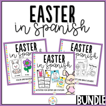 Pascuas - Worksheets, booklets, flashcards and games (Easter in Spanish)