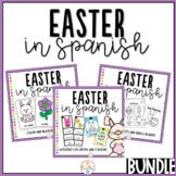 Easter in Spanish Activity Pack Bundle - Las Pascuas