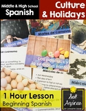 Pascuas y Semana Santa 1 Hour Lesson - Beginning Spanish Middle & High School