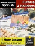 Pascuas y Semana Santa 1 Hour Lesson - Beginning Spanish M