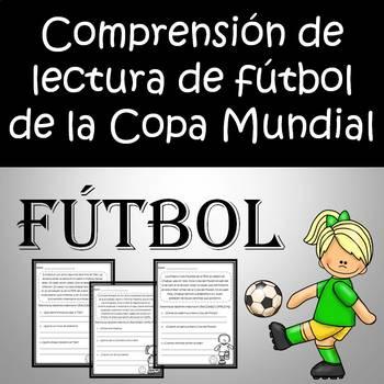 World Cup Soccer - Pases de comprensión de lectura de fútbol de la Copa Mundial