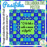 Samoan Language Week Growth Mindset Collaborative Poster | Pacific Islands