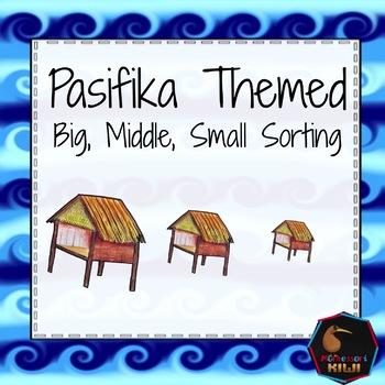 Pasifika themed math sorting