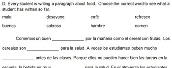 Paso a Paso 1 Ch 4 Food, -er/ -ir Verbs, Compound subjects, Preferences Qs