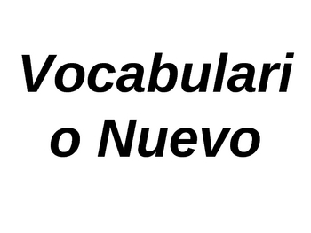 Paso a Paso 2 Chapter 4 Vocabulary Power Point