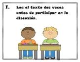 Pasos de guia de discusion colectiva Great Books en español-