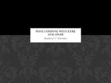 French Bundle : Passé Composé with AVOIR AND ETRE