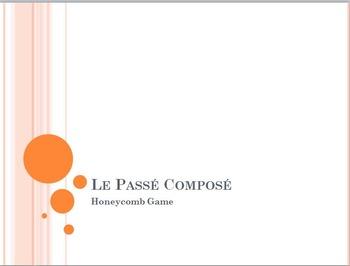 Passé Composé with AVOIR and ETRE: Rayon de Miel (honeycomb) partner game