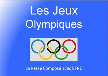 Passé Composé with AVOIR and ETRE : verb Olympics game