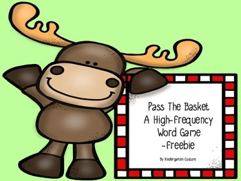 Pass The Basket - A High Frequency Word Game