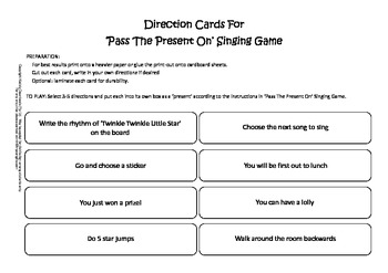Pass The Present On (Christmas Singing Game)