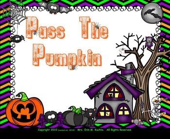 Pass The Pumpkin - A Fun Halloween Rhyme & Game (SMNTBK Edition)