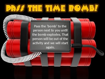 Pass The Time Bomb