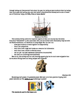 Pass Your Sailor's Test and Get on Board Christopher Columbus' Ship!