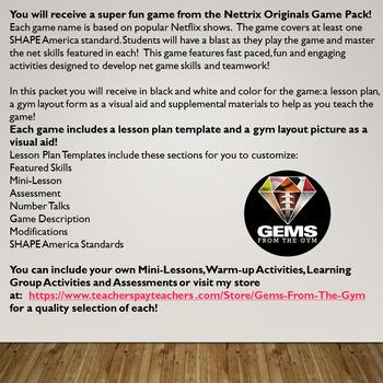Pass and Recreation!  Badminton Skills Game!