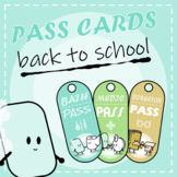 Back to School: Clips Clipart - Cartoon Style (Passes)