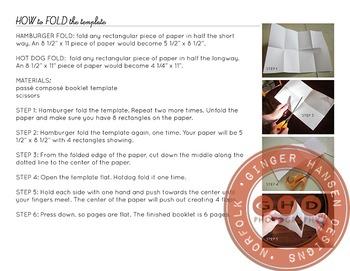 Passé composé booklet foldable
