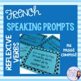 Passé composé reflexive verbs speaking activity