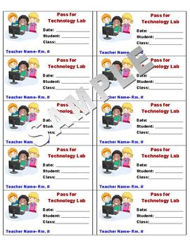 Pass for Technology Lab