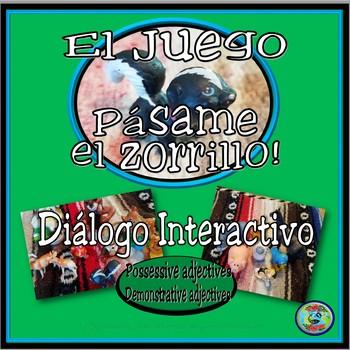 Game of Adjectives: Pass me the skunk, please! - ¡Pásame el zorrillo, por favor!