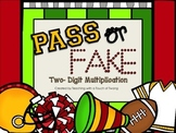 Pass or Fake: Two-Digit Multiplication