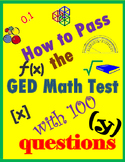 How to Pass GED Math Test