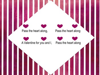 Pass the Heart: A Valentine's Day Song & Game
