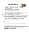Pass the Marble - Team Building/Cooperative Learning Activity