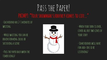 Pass the Paper- Christmas