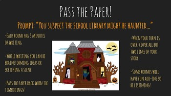 Pass the Paper- Halloween