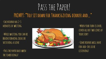 Pass the Paper- Thanksgiving