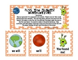 Pass the Planets!  Contractions Game