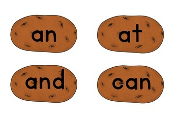 Pass the Potato: A Sight Word Review Game!