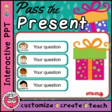 Pass the Present - Christmas Quiz template