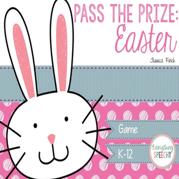 Pass the Prize Following Directions Game: Easter