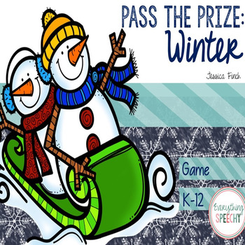 Pass the Prize Following Directions Game: Winter
