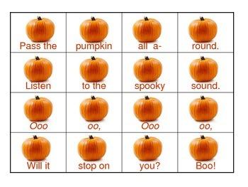 Pass the Pumpkin