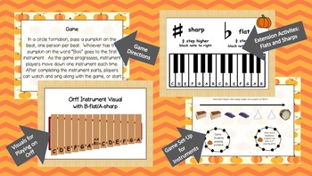 Pass the Pumpkin - Game Song Lesson Plan with Extension Activities