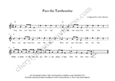 Pass the Tambourine
