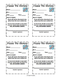 Pass to Nurse - Printable.  Send students to the nurse with a real pass!