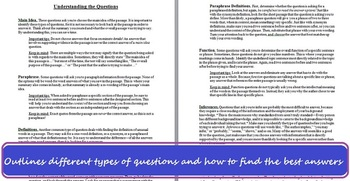 Passage-Based Reading Strategies -Improve Standardized Test Scores (W/ Posters!)