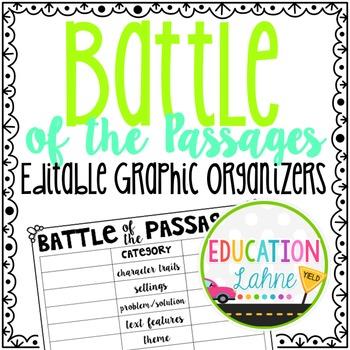 Passage Graphic Organizers