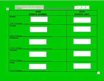 Passage Score Board