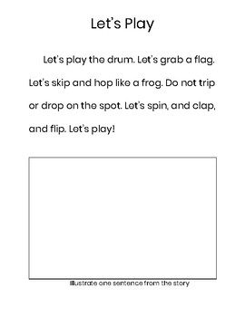 Passage with consonant blends 1