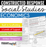 Passages for Constructed Response with Text Evidence *Economics*