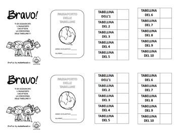 Passaporto delle tabelline